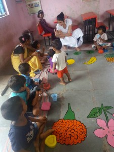 Nutrition programs for SAM