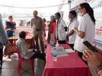 Meeting health workers